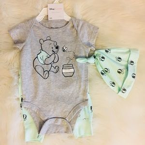 Disney Jumping Beans Winnie The Pooh Outfit. NWT